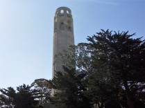 Coit Tower on Telegraph Hill