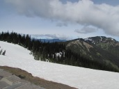 Looking east from Hurricane Ridge